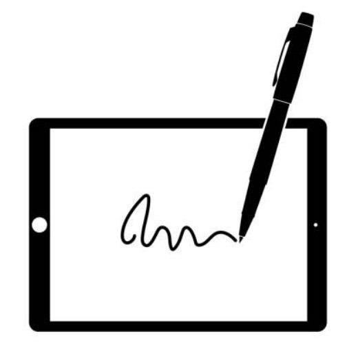 Rehasport digitale Unterschrift